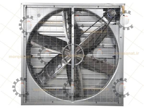 بهترین مدل سیستم هواکش مرغداری